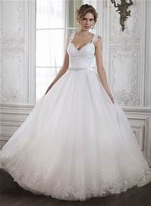 Princess A Line Sweetheart Low Back Tulle Lace Wedding