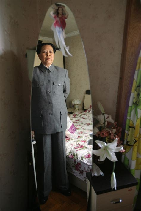 chairman mao impersonator chinese womans double life