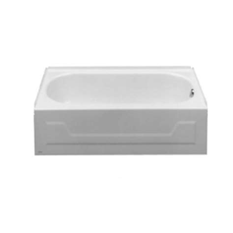 American Standard Mackenzie 45 Ft Bathtub by Shop American Standard 54 In X 30 In Mackenzie White