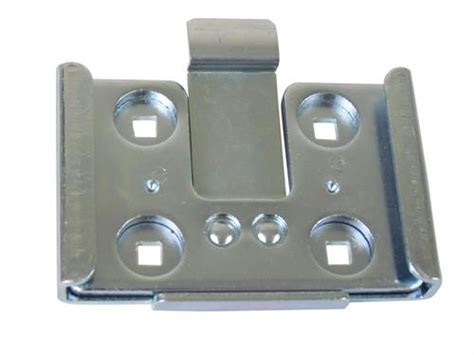 large removable caster plate