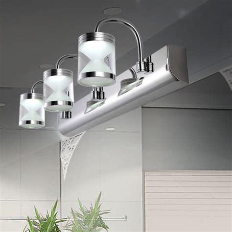 modern led acrylic bathroom front mirror lights toilet