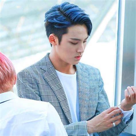 idols  rock blue hair allkpop forums