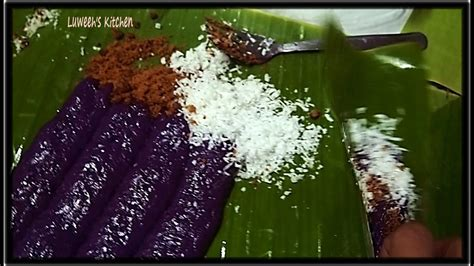 steam puto bumbong requested recipe youtube