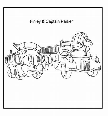 Coloring Pages Fire Random Department Lake