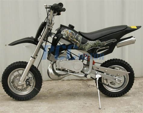 Kids 49cc 2-stroke Gas Motor Mini Pocket Dirt Bike Free S