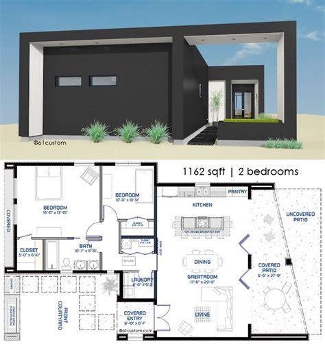 courtyard house plan 25 best small modern house plans ideas on