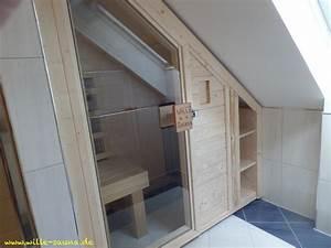 Sauna Unter Dachschräge : sauna dachschr ge wille ~ Sanjose-hotels-ca.com Haus und Dekorationen