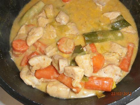 cuisine ww quot blanquette quot de poulet ww la cuisine d 39 angelle