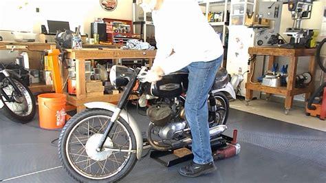 Motorcycle Diy Roller Starter Using 15amp Angle Grinder