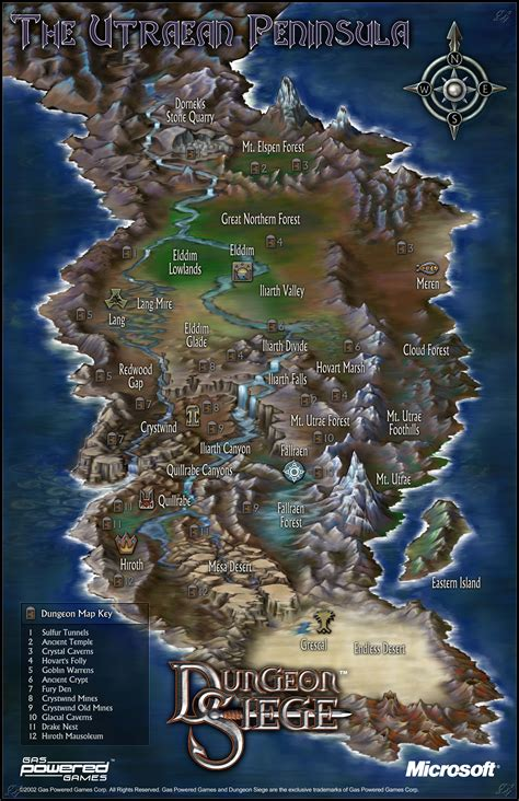 dungeon siege map dungeon siege screenshots pictures wallpapers pc ign