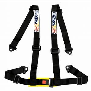 Car Vehicle 4 Point Racing Sport Safety Harness Strap Seat Belt Bolt In Black