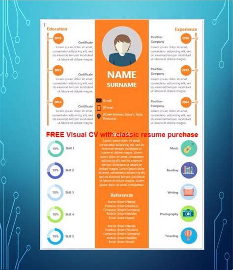 visual cv sles best visual resumes professional visual