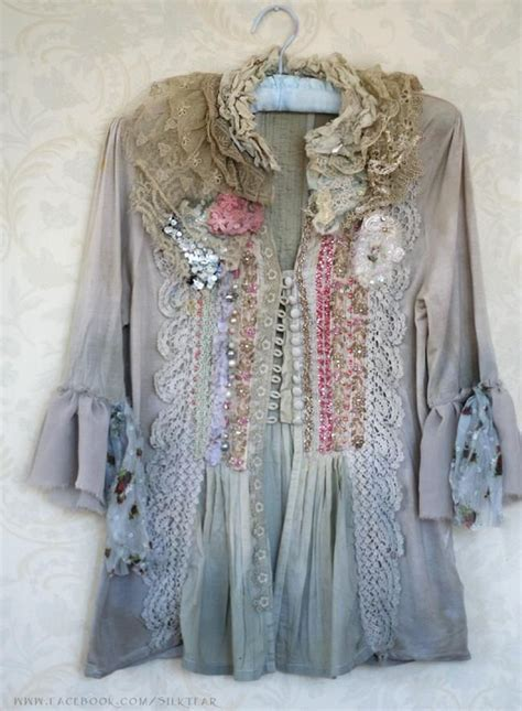 shabby chic pajamas 429 best images about altered jackets on pinterest baroque upcycled clothing and antique lace