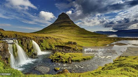 Kirkjufell In Iceland Stock Photo Getty Images