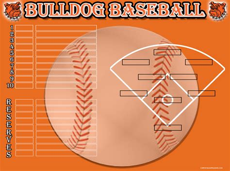 baseball template baseball softball image maker