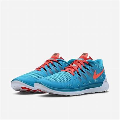 Nike Shoes Running Mens Lagoon Crimson Bright
