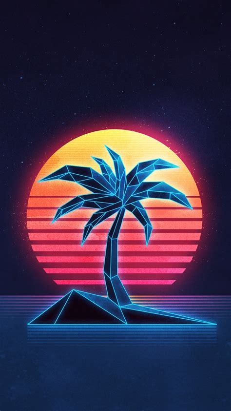 Awesome High Resolution Wallpapers Neon 80s Wallpaper 78 Images
