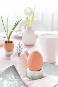 Eierbecher Selber Machen : eierbecher aus salzteig tischdeko f r ostern ars ~ Lizthompson.info Haus und Dekorationen