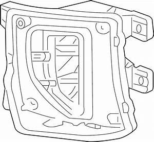 Chevrolet Silverado 1500 Fog Light  Front   2016