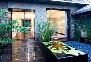 garden ponds design ideas inspiration With amazing fontaine exterieure de jardin moderne 7 decoration terrasses jardins
