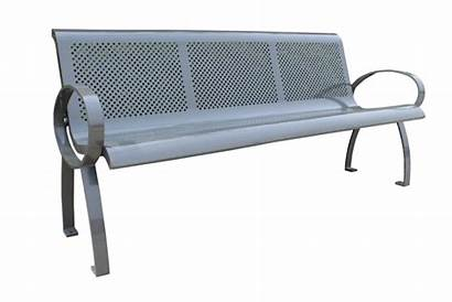 Metal Park Outdoor Commercial Benches Bench Spb