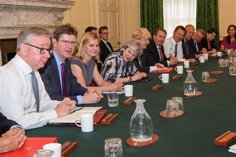 The Government Cabinet - this week inside the cabinet will theresa may
