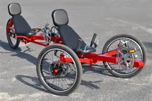 Recumbent Tandem Trike Bicycle