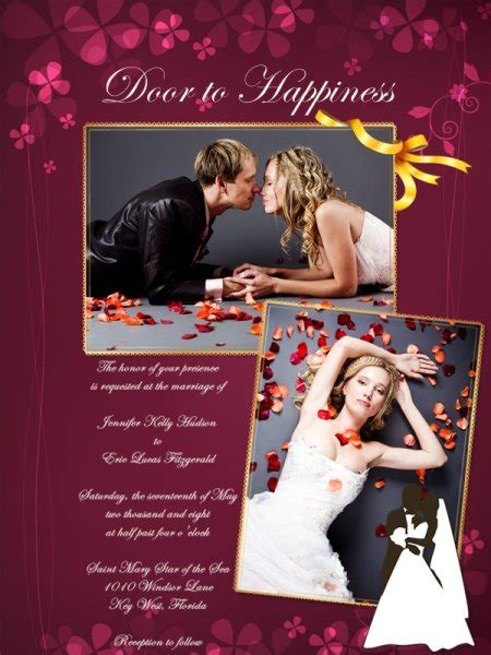 wedding invitation card add  templates