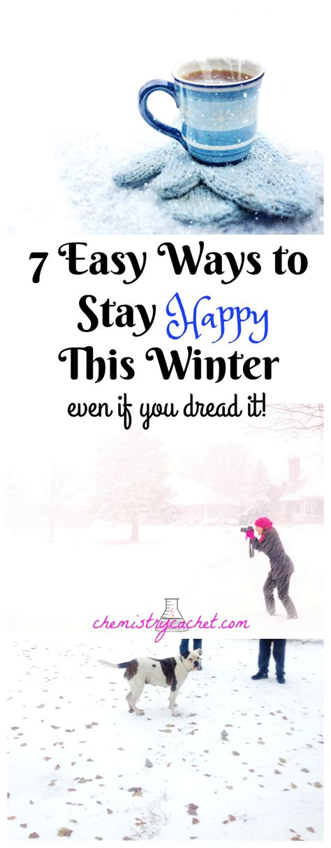 7 Easy Ways To Stay Happy This Winter! (even If You Dread It