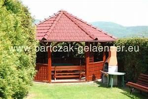 pavillon mit festem dach holz garten reetdach wetterfest With whirlpool garten mit befestigung französischer balkon wärmedämmung
