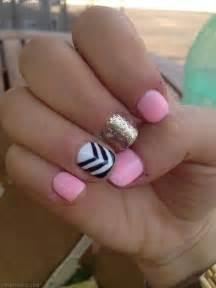 Cute nails short makeup nail