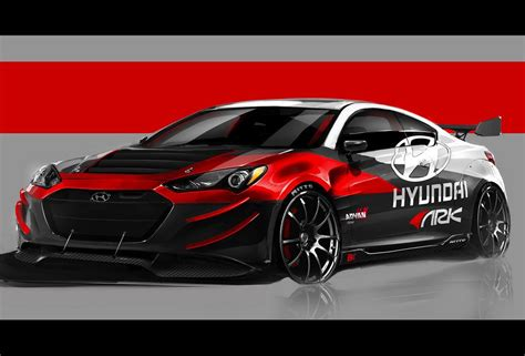 See 2011 genesis coupe articles. ARK Performance 2013 Hyundai Genesis Coupe SEMA preview