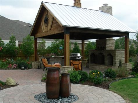Outdoor Covered Patios, Arbors, Fences, Stone Work In