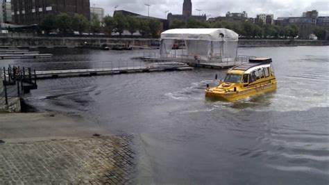 Boat Sinking Gopro by Duck Boat Failing To Get Out Of The Water Almost Sinks