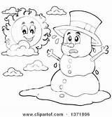 Coloring Snowman Templates Snowmen Bing Binged sketch template