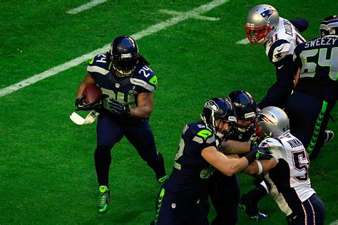 Marshawn Lynch Makes Joke About Super Bowl On The League