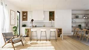 Deco scandinave 50 idees pour decorer votre cuisine au for Idee deco cuisine avec dressing scandinave