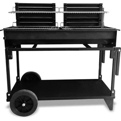 cuisine inox et bois location barbecue au charbon de bois 2 grilles de 50 cm