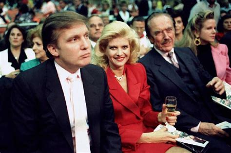 trump fred donald mary father ivana wife mother trumps york mystery he she 1988 gettyimages had wealth bombshell vs times