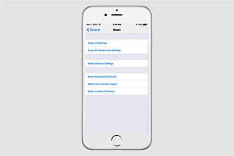 to reset an iphone 5 how to reset iphone 5 dr fone