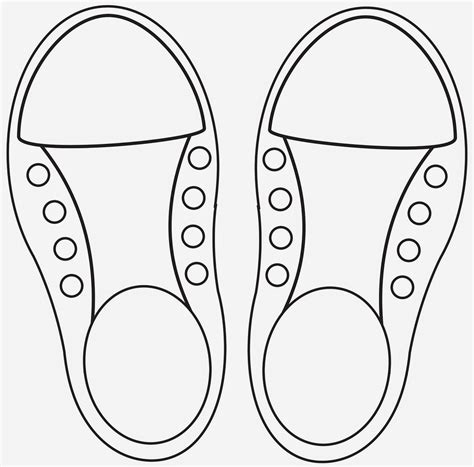 shoe template learning to lace and tie your shoe craft repeat crafter me