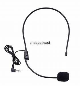 Buy Cheap Stereo Microphone Headband Jack 3 5mm Stand