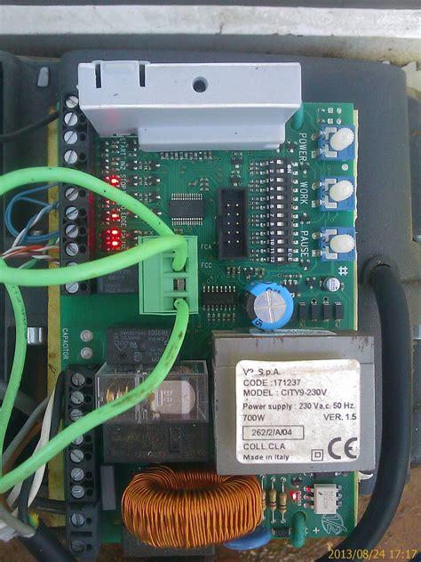 programacion de un panel y v2 de porton electrico portones el 233 ctricos yoreparo