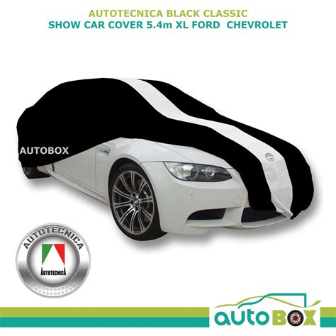 covered car black xl show car cover indoor dust classic fits 5 4m ford