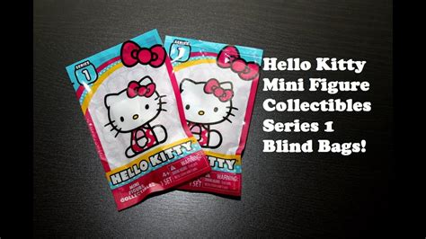 Hello Kitty - Series 1 Mini Figure Collectibles Blind Bags ...