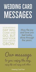 Wedding Card Messages | Wishes and Quotes | What To Write ...
