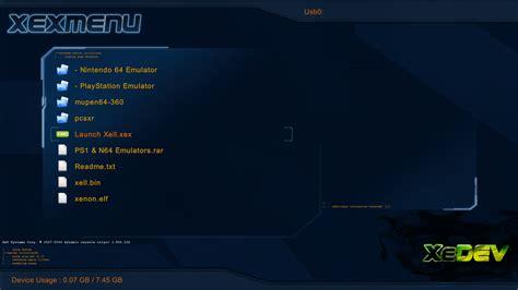 tut ps1 n64 emulators on a jtag rgh xbox gaming wemod community