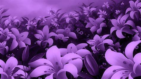 Purple Flowers Wallpapers Wallpaper Cave