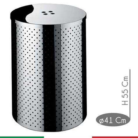 Sgabello Portabiancheria by Portabiancheria Taormina Standard Diametro 41xh55 Cm L