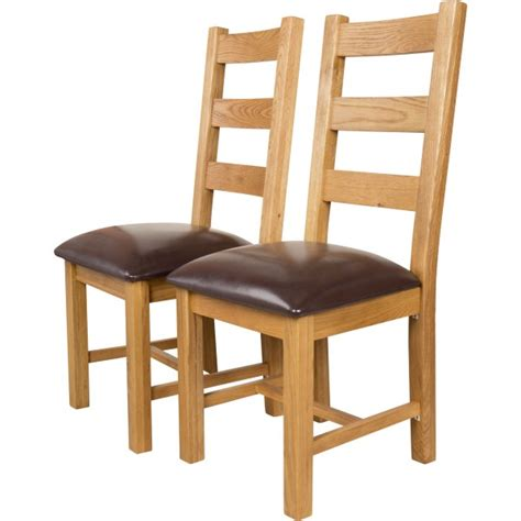dining chairs oak oak dinette chairs canterbury oak dining chairs set of 2 3327